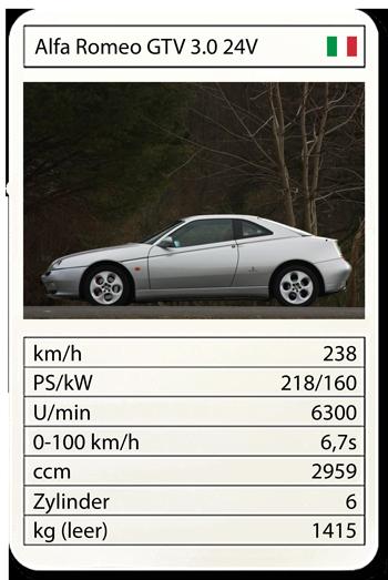 Alfa Romeo GTV 3.0 24V (19941–2005)