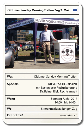 Oldtimer-Sunday-Morning-Treffen-Zug 7. Mai